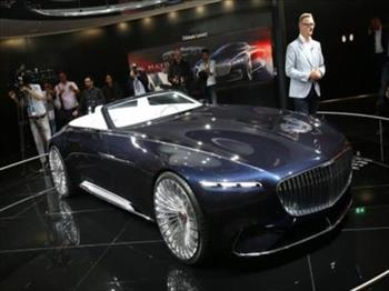 Frankfurt Motor Show 2017: xe mui trần Vision Mercedes-Maybach 6 Cabriolet